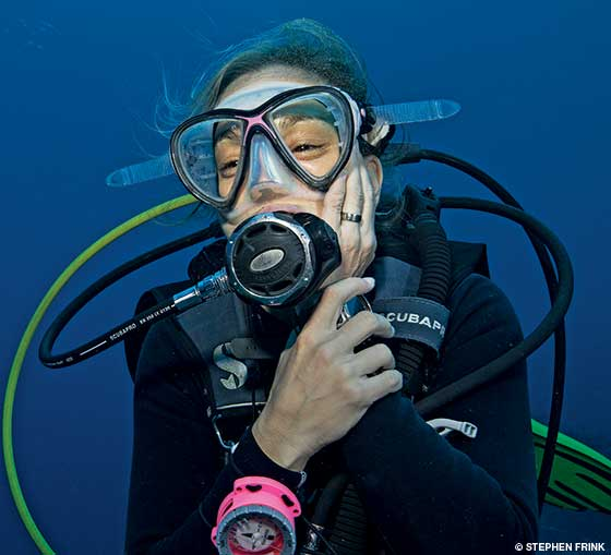 Divers Alert Network, Unexpected Air Pockets